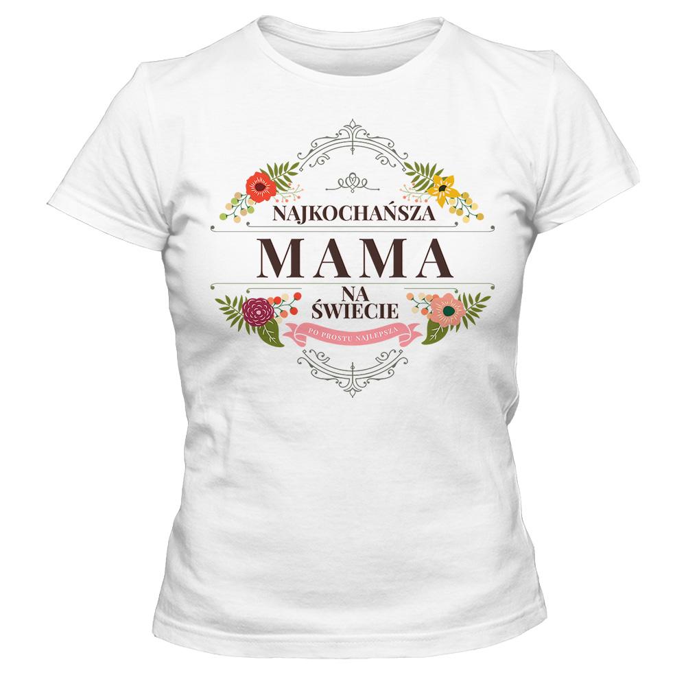8a9372af7b0e84 Koszulka damska DZIEŃ MATKI 07 - T-shirt Gallery