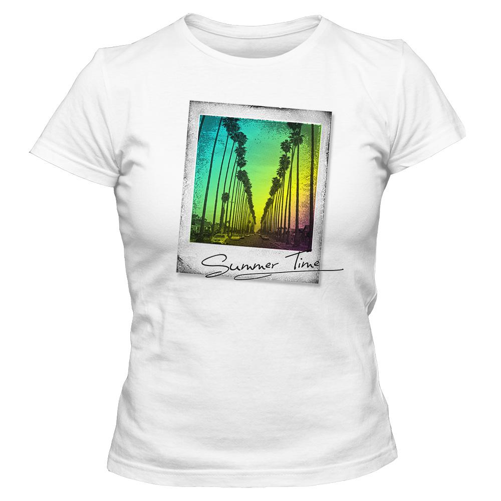 Koszulka damska biała Summer Time