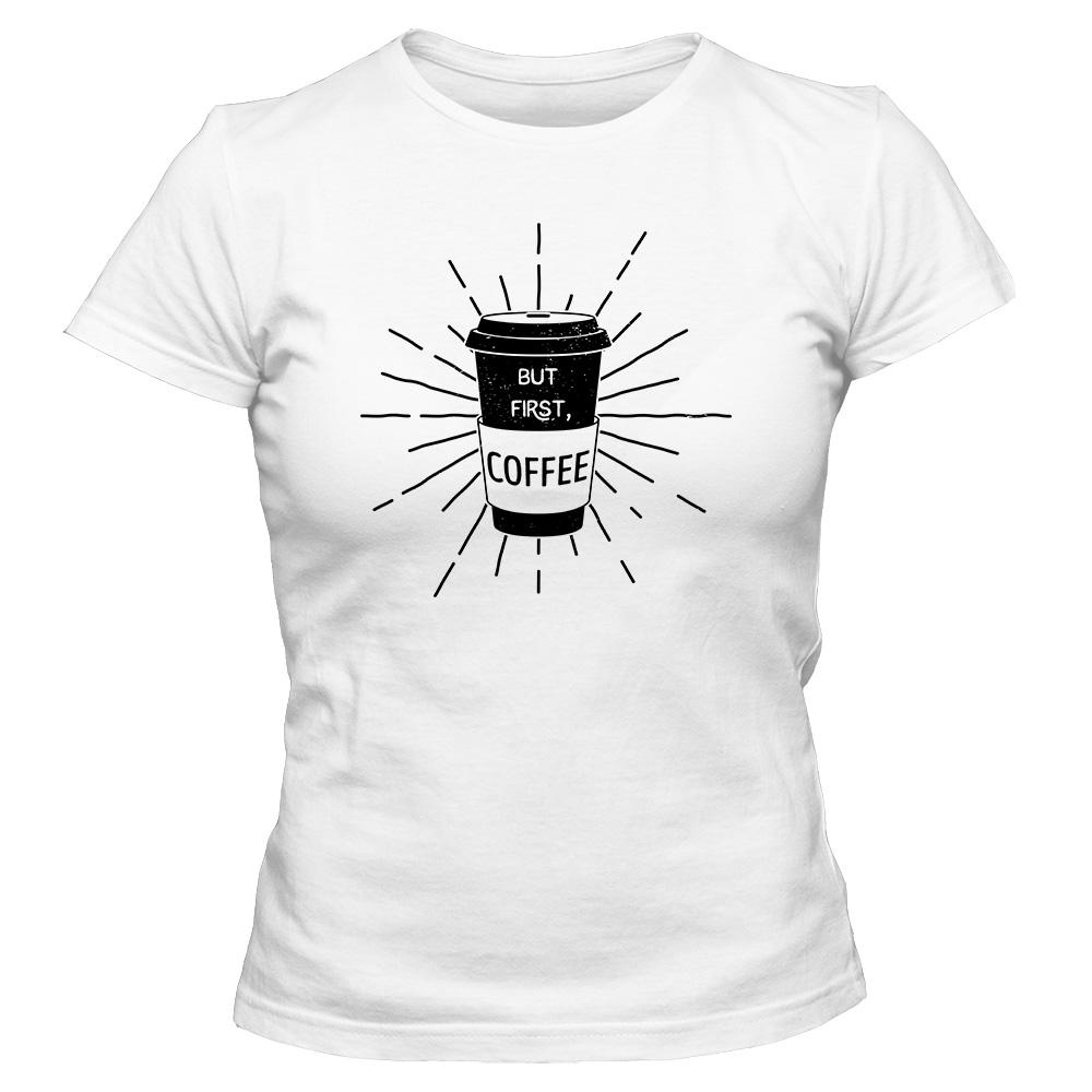 3044db304 Koszulka damska COFFEE 05 - Koszulki z nadrukiem - Tshirt-Gallery